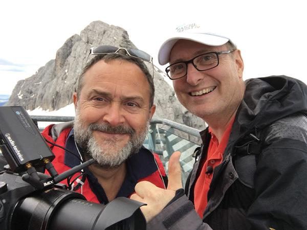Bernhard M. Wieland und Claudius Rajchl